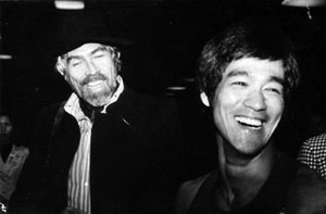 James Coburn et Bruce Lee