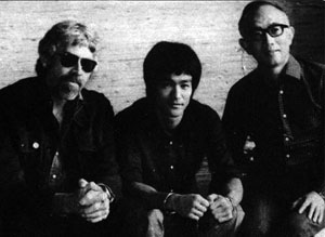 James Coburn, Bruce Lee et Raymond Chow