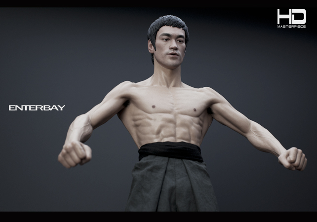Figurine de Bruce Lee chez Enterbay - HD-1003