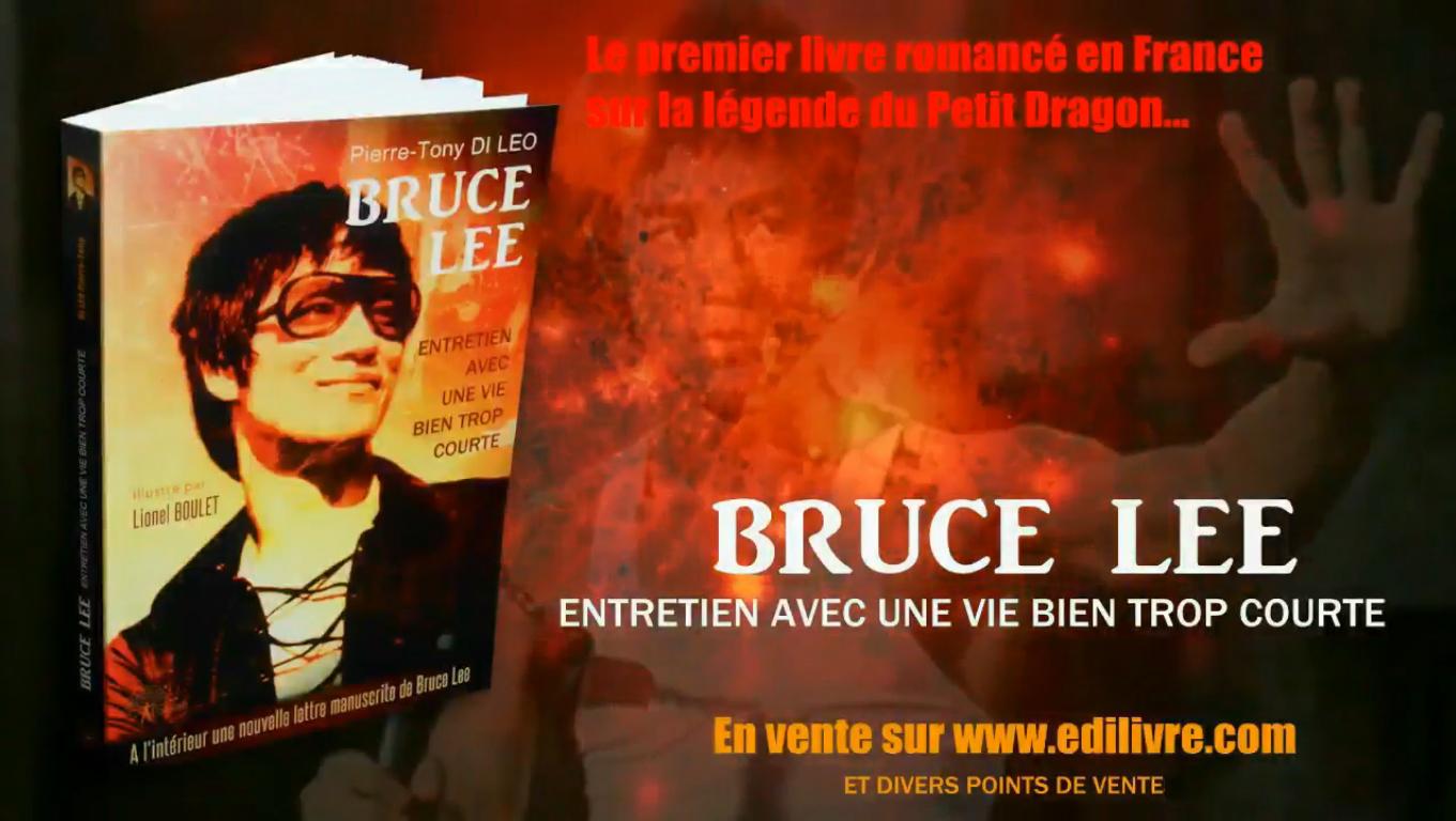 Sortie d'un nouveau livre sur Bruce Lee